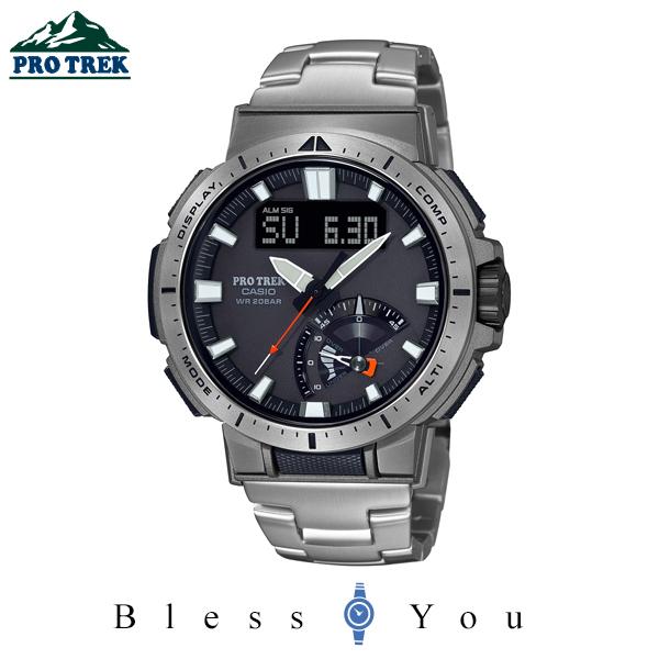 CASIO PRO TREK カシオ 電波ソーラー 腕時計 メンズ プロトレック 2020年4月新作 PRW-70YT-7JF 95,0