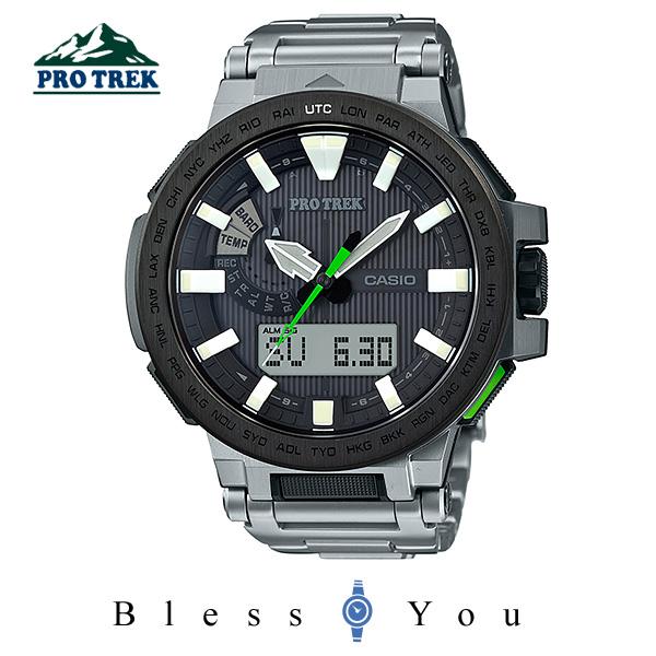 ソーラー 電波 気圧計  カシオ 腕時計 CASIO PROTREK PRX-8000T-7BJF 160,0 メンズウォッチ 新品お取寄せ品