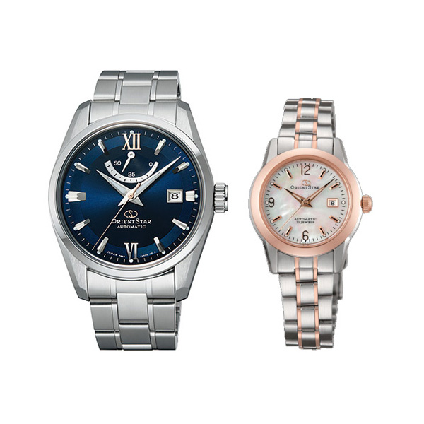 2人の時を重ねていく ペアウォッチ オリエントスター 機械式時計 RK-AU0005L-WZ0401NR 103,0