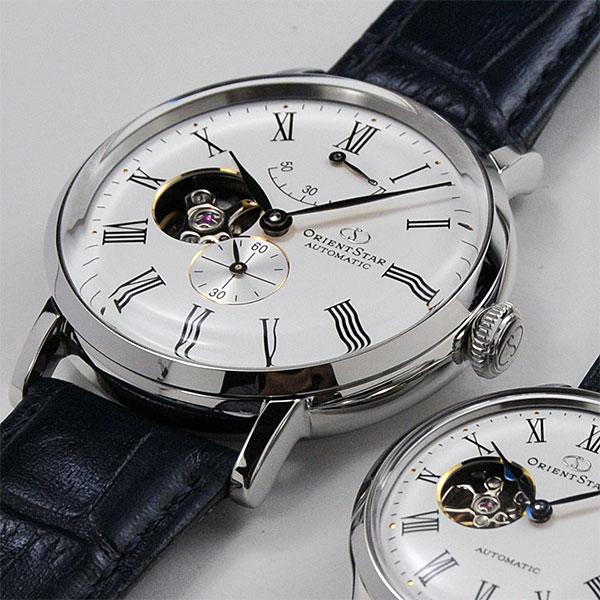 オリエントスター クラシック ペアウォッチ 機械式時計 navy皮革 RK-AV0003S-RK-ND0005S 117,0