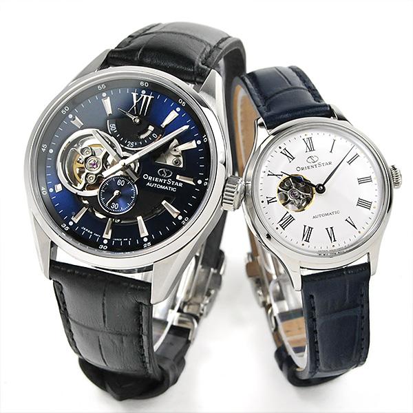「二人の時を重ねていく 機械式時計」 オリエントスター ペアウォッチ 機械式時計  RK-AV0006L-RK-ND0005S 129,0