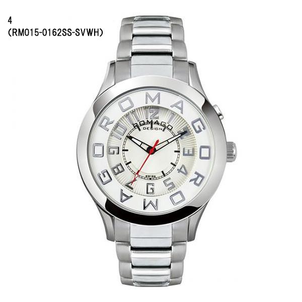 ROMAGO DESIGN ロマゴ デザイン 腕時計 メンズ レディース ユニセックス  アトラクション RM015-0162SS 24,0