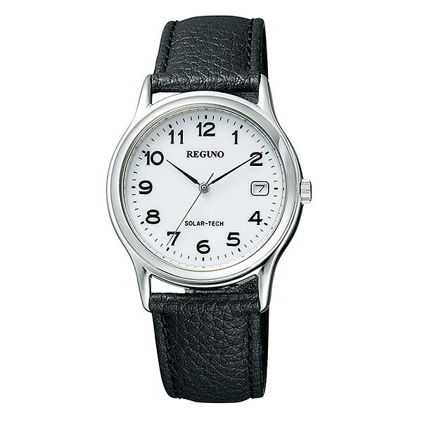 シチズン レグノ メンズ 腕時計 ソーラーテック電波時計 スタンダード 新品お取り寄せ RS25-0484H 17,5