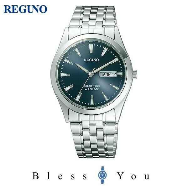 シチズン レグノ メンズ 腕時計 ソーラーテック電波時計 スタンダード 新品お取り寄せ RS25-0052B 10,0