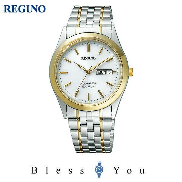 シチズン レグノ メンズ 腕時計 ソーラーテック電波時計 スタンダード 新品お取り寄せ RS25-0053B 11,0