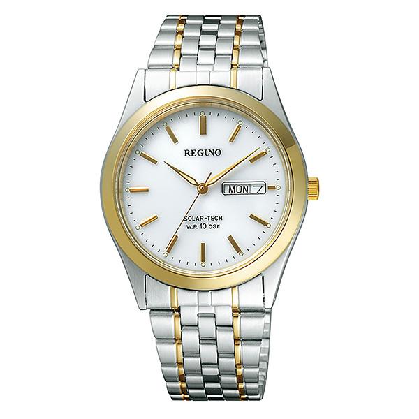 シチズン レグノ メンズ 腕時計 ソーラーテック電波時計 スタンダード 新品お取り寄せ RS25-0347H 20,0