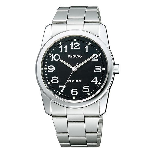 シチズン レグノ メンズ 腕時計 ソーラーテック スタンダード 新品お取り寄せ RS25-0211A 8,0