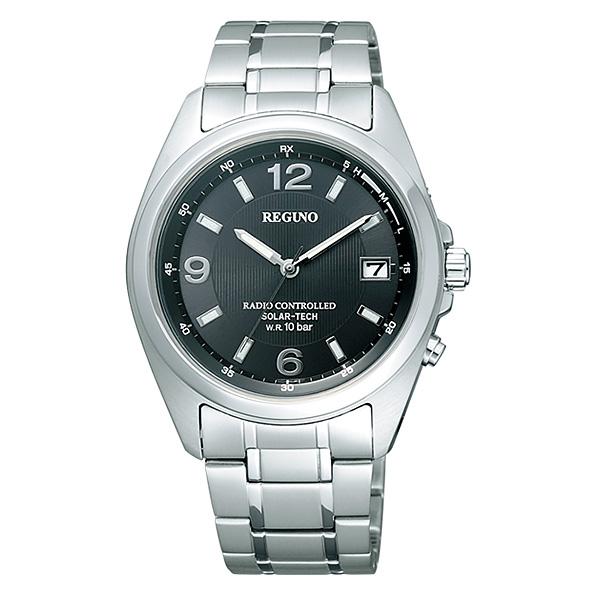シチズン レグノ メンズ 腕時計 ソーラーテック電波時計 スタンダード 新品お取り寄せ RS25-0343H 20,0