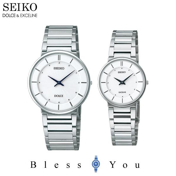 セイコー 腕時計 ドルチェ&エクセリーヌ 薄型ペアウォッチ SEIKO SACK015-SWDL147 120,0 【ペアウォッチ ペア カップル ウォッチ ブランド】