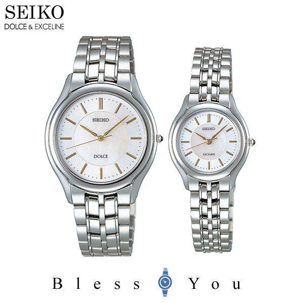 セイコー 腕時計 ドルチェ&エクセリーヌ 薄型ペアウォッチ SEIKO SACL009-SWDL099