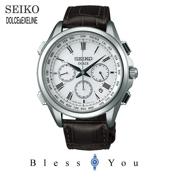ソーラー 電波時計 セイコー ドルチェ メンズ 腕時計 SADA039 新品お取り寄せ 120,0