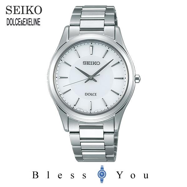 セイコー ソーラー 腕時計 メンズ ドルチェ SEIKO DOLCE ペアモデル SADL011 50,0