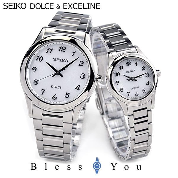 セイコー 腕時計 ソーラー ドルチェ&エクセリーヌ ペアウォッチ SEIKO SADL013-SWCQ093 100,0