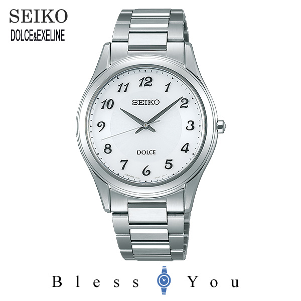 セイコー ソーラー 腕時計 メンズ ドルチェ SEIKO DOLCE ペアモデル SADL013 50,0