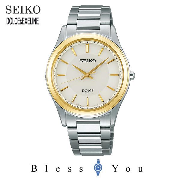 セイコー ソーラー 腕時計 メンズ ドルチェ SEIKO DOLCE ペアモデル SADL014 50,0