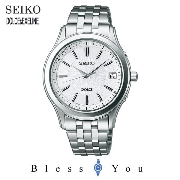 ソーラー 電波時計 セイコー ドルチェ メンズ 腕時計 SADZ123 新品お取り寄せ 80,0