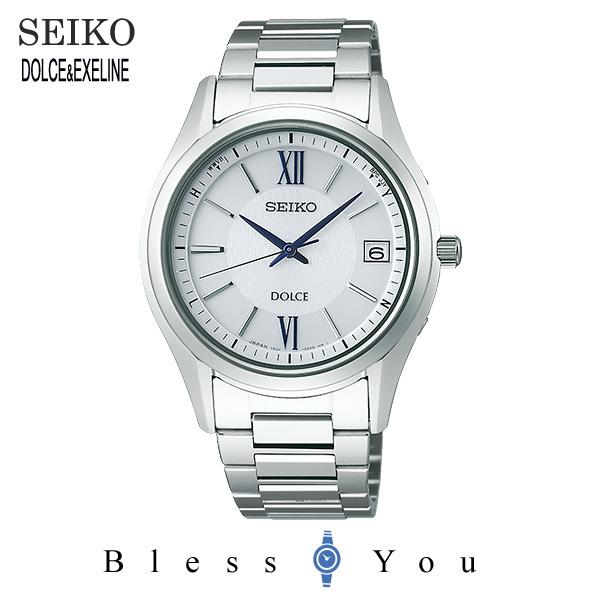 ソーラー 電波時計 セイコー ドルチェ メンズ 腕時計 SADZ185  新品お取り寄せ 100,0