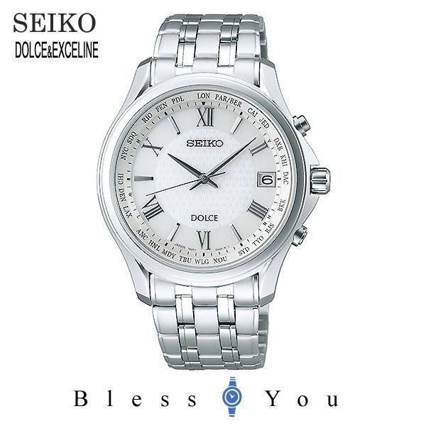 SEIKO セイコー 腕時計 メンズ ソーラー電波 ドルチェ&エクセリーヌ SADZ201 120,0