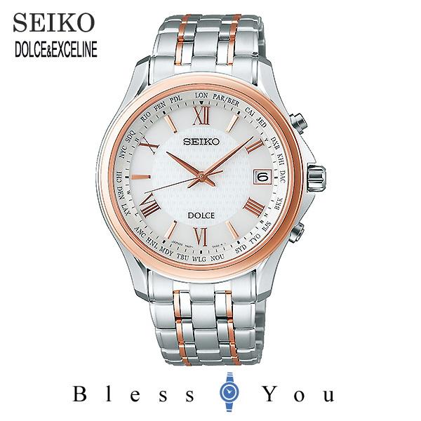 SEIKO セイコー 腕時計 メンズ ソーラー電波 ドルチェ&エクセリーヌ SADZ202 130,0