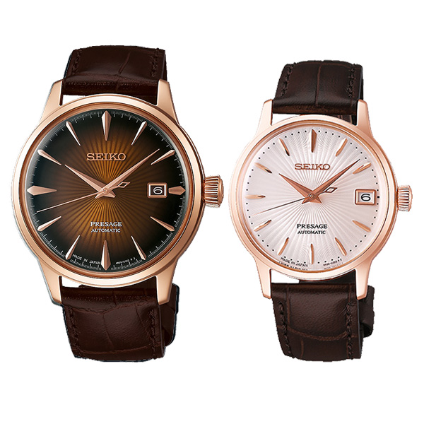 SEIKO PRESAGE セイコー 腕時計 プレザージュ SARY128-SRRY028 96,0 メカニカル 自動巻き ピンクゴールド 11n