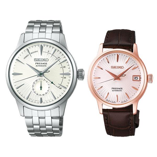 ペアウォッチ セイコー  SEIKO PRESAGE セイコー 腕時計 プレザージュ ペア ウォッチ SARY129-SRRY028 109,0 メカニカル 自動巻き