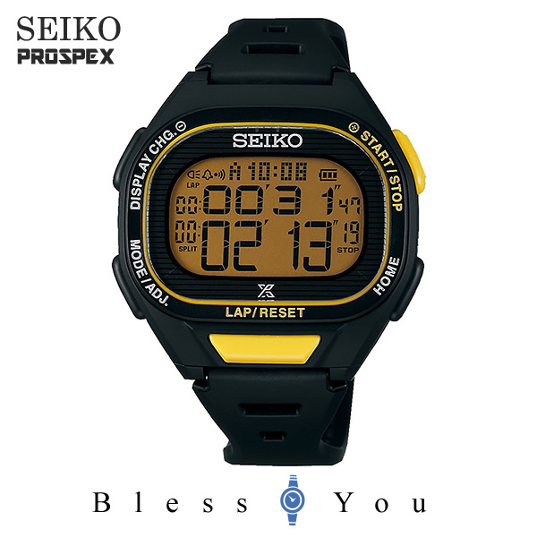 SEIKO PROSPEX セイコー ソーラー 腕時計 メンズ プロスペックス スーパーランナーズ 2019年7月 山縣亮太モデル 限定 SBEF057 15,0