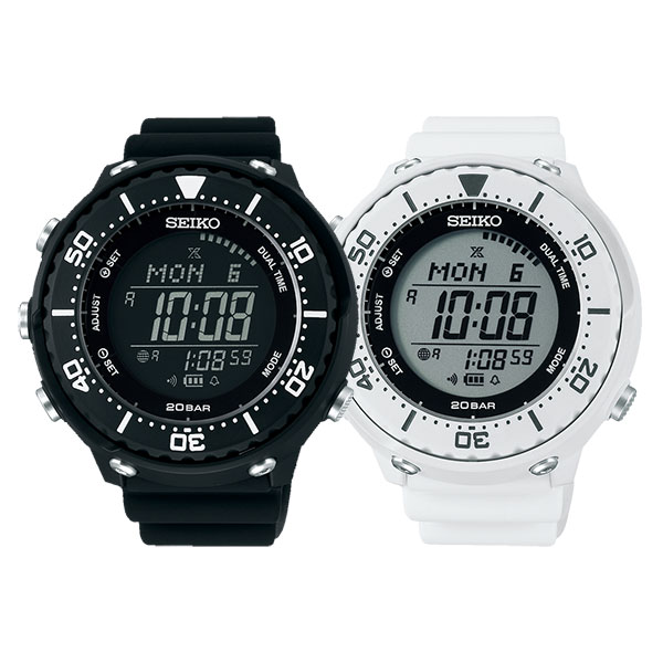 セイコー プロスペックス フィールドマスター LOWERCASE ソーラー ランナー ペアウォッチ 腕時計 SBEP013-SBEP011 52,0 10n