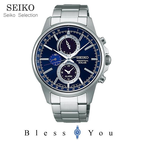 ソーラー セイコーセレクション スピリット メンズ 腕時計 SBPJ003 38,0 新品お取寄品