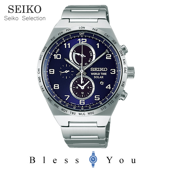 セイコーセレクション スピリット メンズ 腕時計 SBPJ023 38,0 新品お取寄品