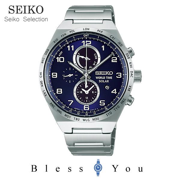 ソーラー セイコーセレクション スピリット メンズ 腕時計 SBPJ023 38,0 新品お取寄品