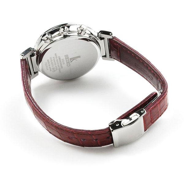 SEIKO セイコー ルキア セイコーセレクション ペアウォッチ 腕時計 ソーラー SBPJ025-SSVS035 82,0