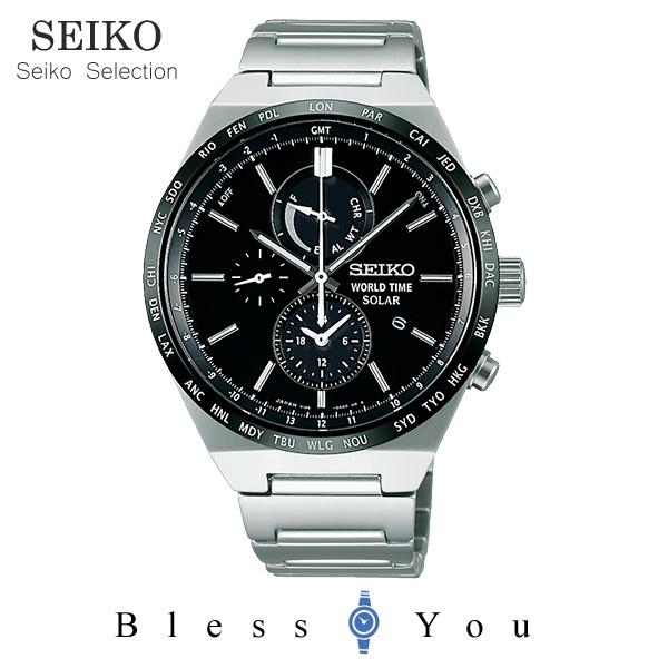 ソーラー セイコーセレクション スピリット メンズ 腕時計 SBPJ025 38,0 新品お取寄品