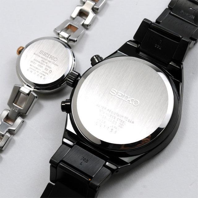 セイコー ペアウォッチ ソーラー セイコーセレクション SEIKO SBPJ037-SWFA153 69,0 日本製