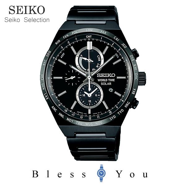 ソーラー セイコーセレクション スピリット メンズ 腕時計 SBPJ037 43,0 新品お取寄品