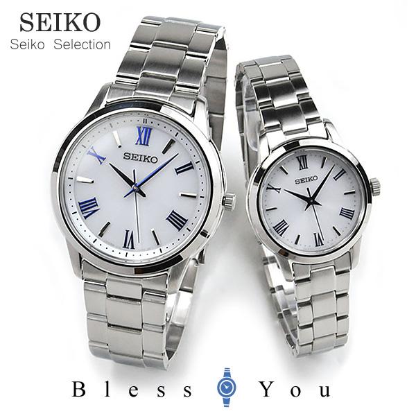 SEIKO SELECTION セイコー ソーラー ペアウォッチ セイコーセレクション SBPL007-STPX047 50,0