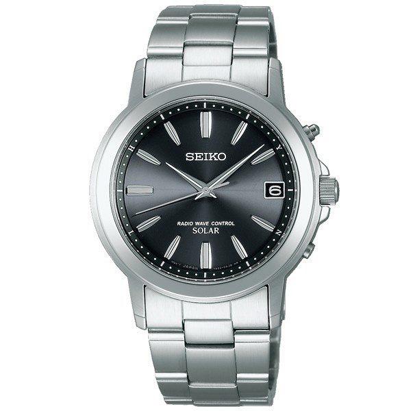 セイコー 電波ソーラー 腕時計 メンズ セイコーセレクション SBTM169 54,0