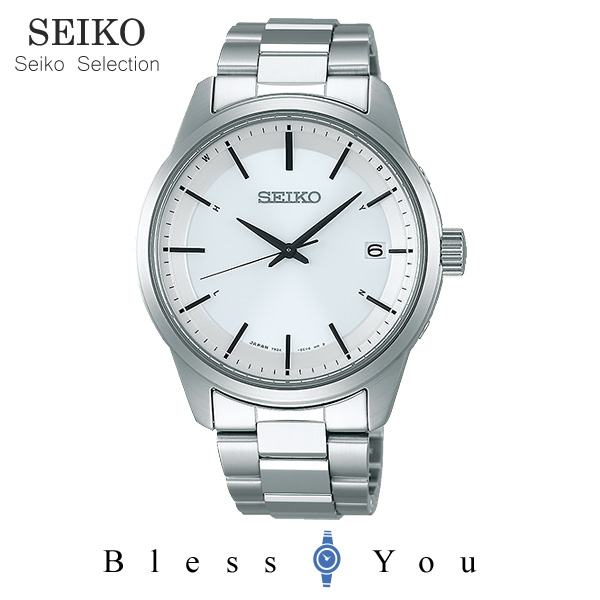 SEIKO SELECTION セイコーセレクション ソーラー電波 メンズ 腕時計  SBTM251 40,0