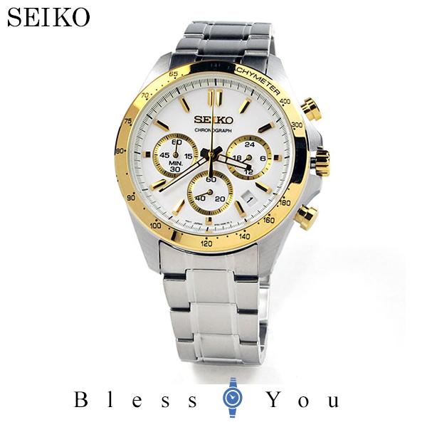 セイコー 腕時計 メンズ セイコーセレクション SBTR024 クロノグラフ 30,0