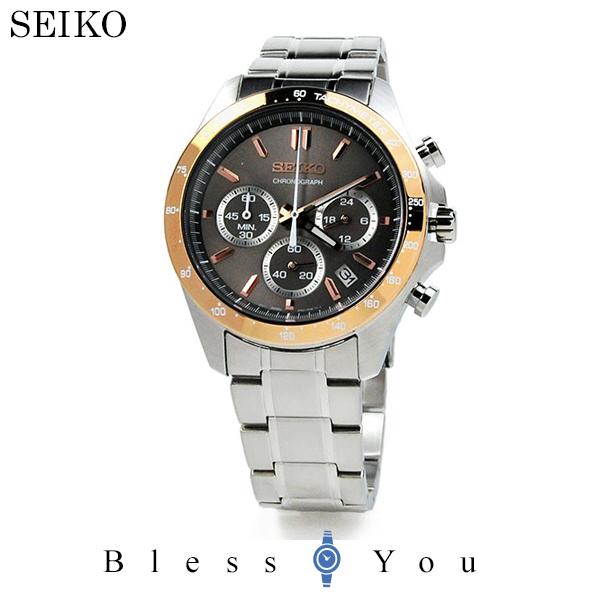 セイコー 腕時計 メンズ セイコーセレクション SBTR026 クロノグラフ 30,0