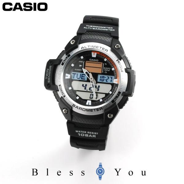 カシオ 腕時計 アウトドア スポーツギア 気圧・高度・温度計測 SGW-400H-1BJF 新品 11,0