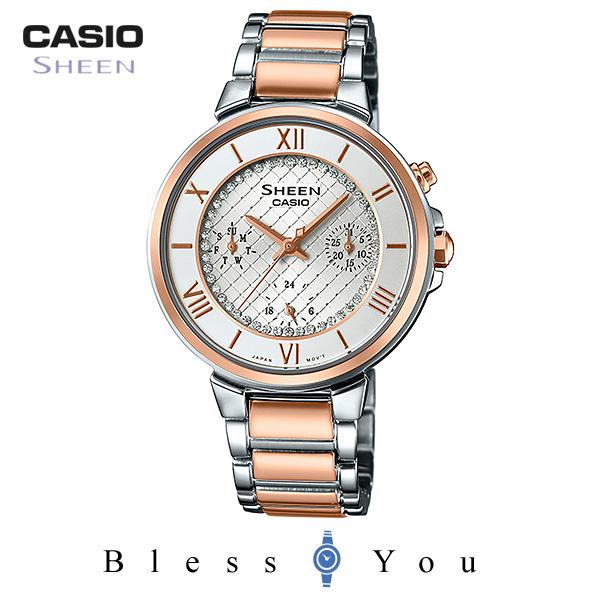 CASIO SHEEN カシオ シーン SHE-3040SGJ-7AJF スワロフスキー・クリスタル 新品お取り寄せ 22,0