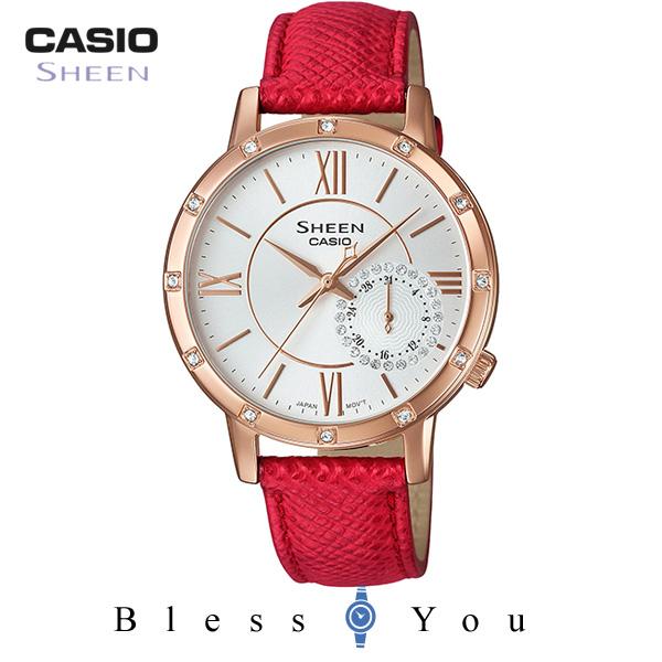 CASIO SHEEN カシオ 腕時計 レディース シーン 2019年8月新作 SHE-3046GLP-7BJF 20,0