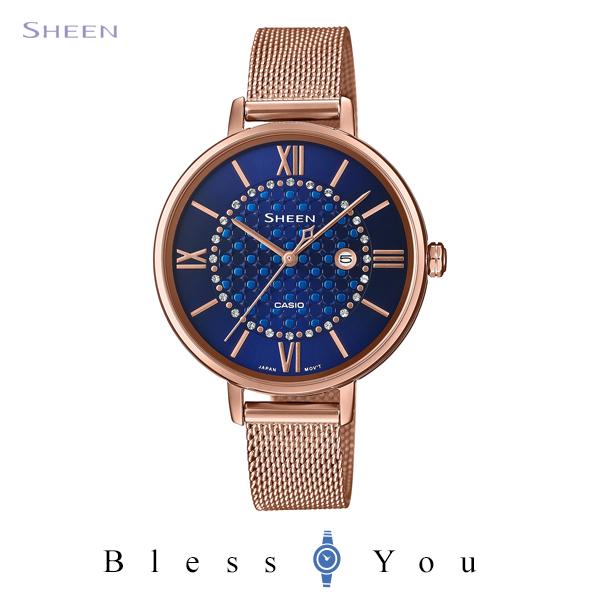 CASIO SHEEN カシオ ソーラー電波 腕時計 レディース シーン 2020年8月新作 SHE-4059PGMJ-2AJF 20,0