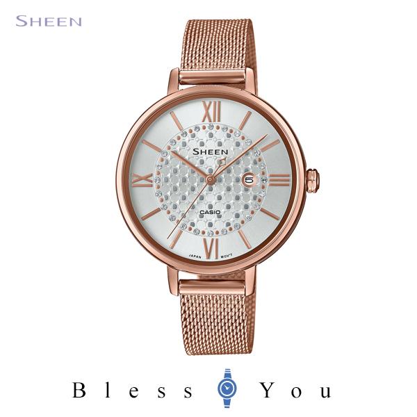 CASIO SHEEN カシオ ソーラー電波 腕時計 レディース シーン 2020年8月新作 SHE-4059PGMJ-7AJF 20,0