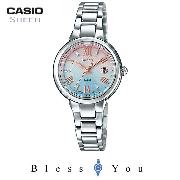 CASIO SHEEN カシオ ソーラー 腕時計 レディース シーン SHE-4516SBJ-7CJF 26,0