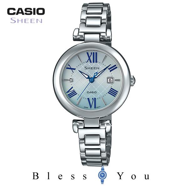 CASIO SHEEN カシオ ソーラー 腕時計 レディース シーン 2019年5月新作 SHS-4502D-2AJF 28,0