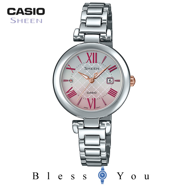 CASIO SHEEN カシオ ソーラー腕時計 レディース シーン 2019年5月新作 SHS-4502D-4AJF 28,0