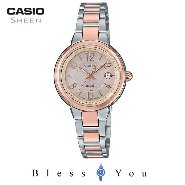 カシオ シーン 腕時計 タフソーラ― SHS-4503SPG-9AJF 28,0
