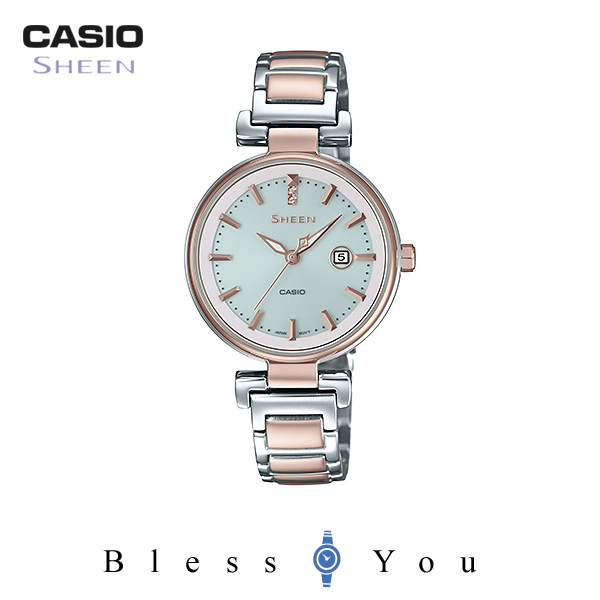 CASIO SHEEN カシオ ソーラー 腕時計 レディース シーン 2018年8月新作 SHS-4524SCG-7AJF 32,0