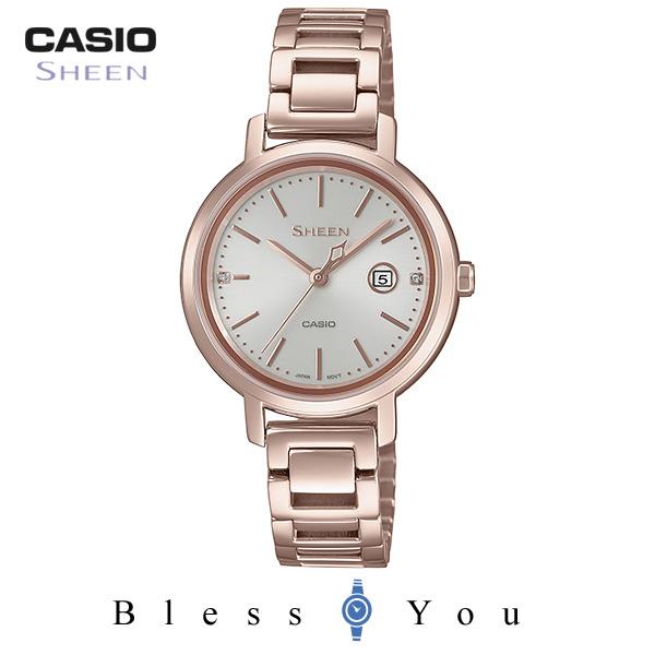 CASIO SHEEN カシオ ソーラー レディース シーン 2018年10月新作 SHS-4525CG-4AJF 32,0